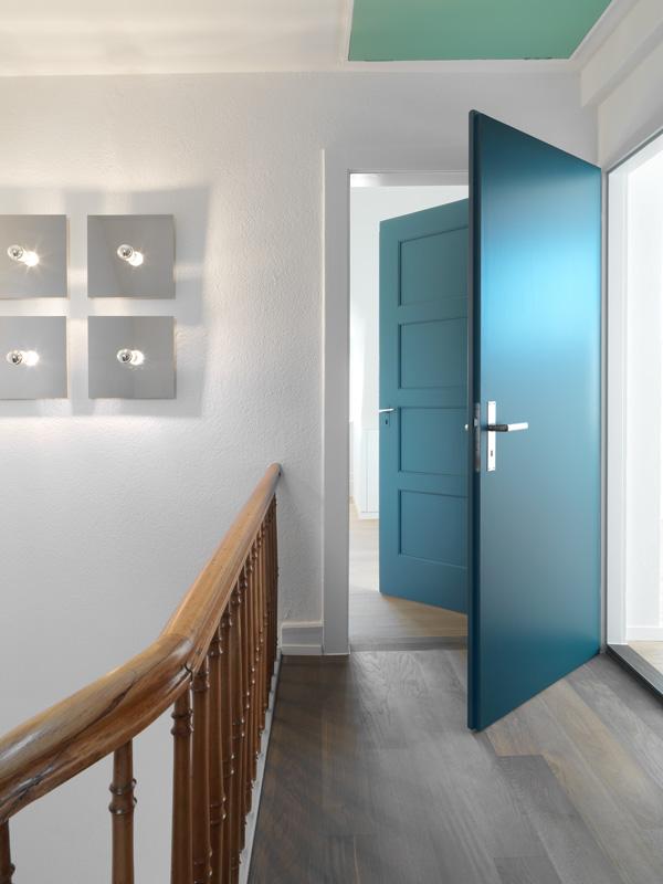 Beleuchtung Treppe Einfamilienhaus Jom Architekten Zurich